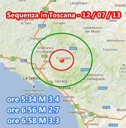 Terremoto Toscana, scossa 2.7 M ore 16.15