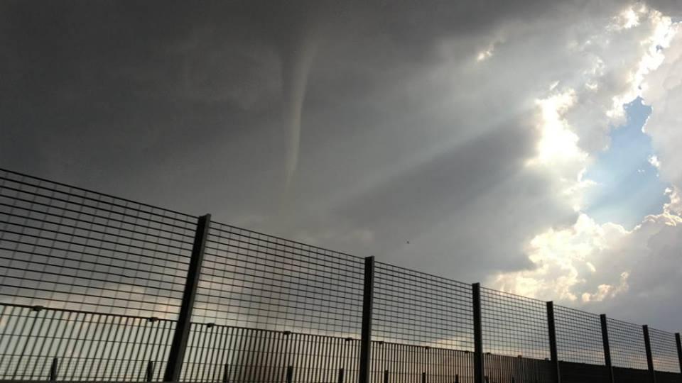 Tornado nella Sicilia centrale