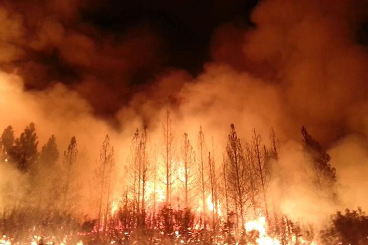 Incendio al parco di Yosemite: è uno dei piu' gravi della storia Californiana