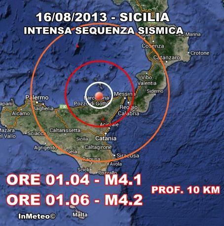 INGV Terremoto Oggi : Monitoraggio in tempo reale 16 Agosto 2013