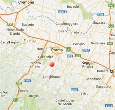 Terremoto Parma-Emilia Romagna oggi 6 Luglio 2013
