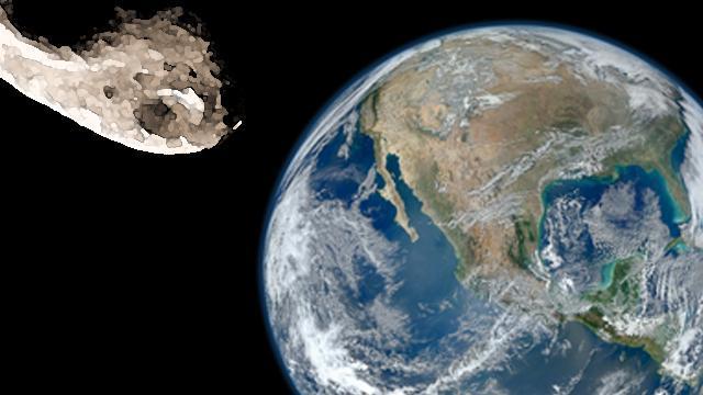 Asteroide 2005 Wk4 in arrivo