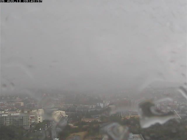 Pioggia su Catania, sul resto d'Italia splende il Sole