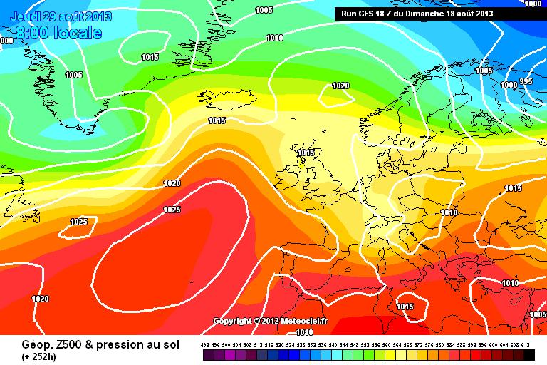 Fine mese: Nord Atlantico all'attacco?