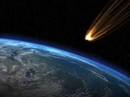 Meteorite Cina : Vetri in frantumi e tanta paura. Foto di repertorio