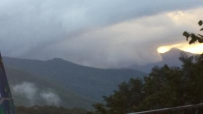 Liguria : nubifragio in atto su Genova - Fonte foto CentroMeteoLigure