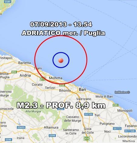 INGV Terremoto Oggi : Monitoraggio 7 Settembre 2013