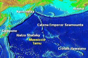 Massiccio Tamu, il più grande vulcano della Terra