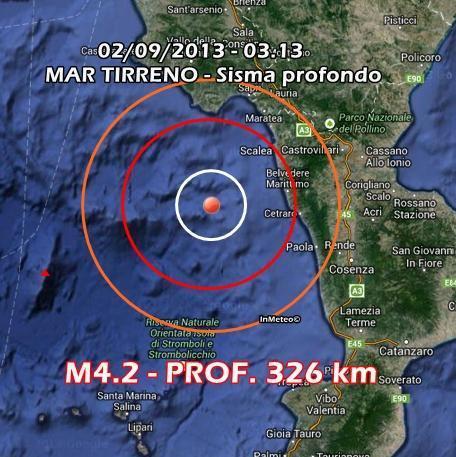 INGV Terremoto Oggi : Monitoraggio 2 Settembre 2013
