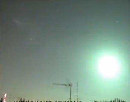 Meteorite sorvola il Triveneto - Video ufficiale
