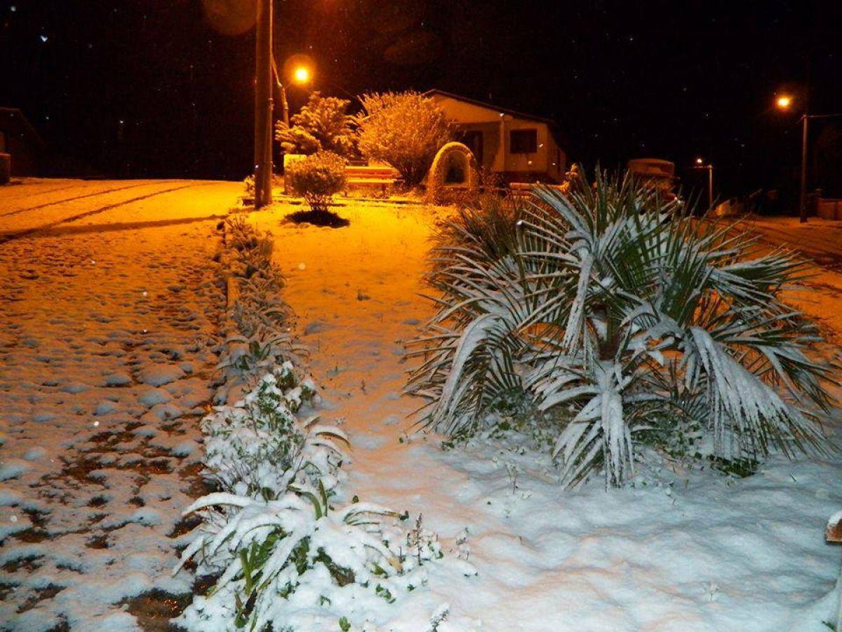 Brasile : nevicate storiche sul finire di Agosto
