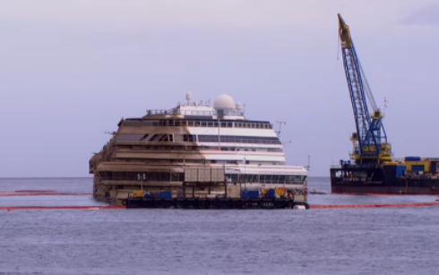 Costa Concordia : completata l'impresa