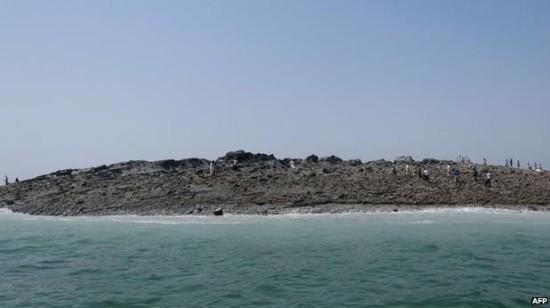 Isola di fango.