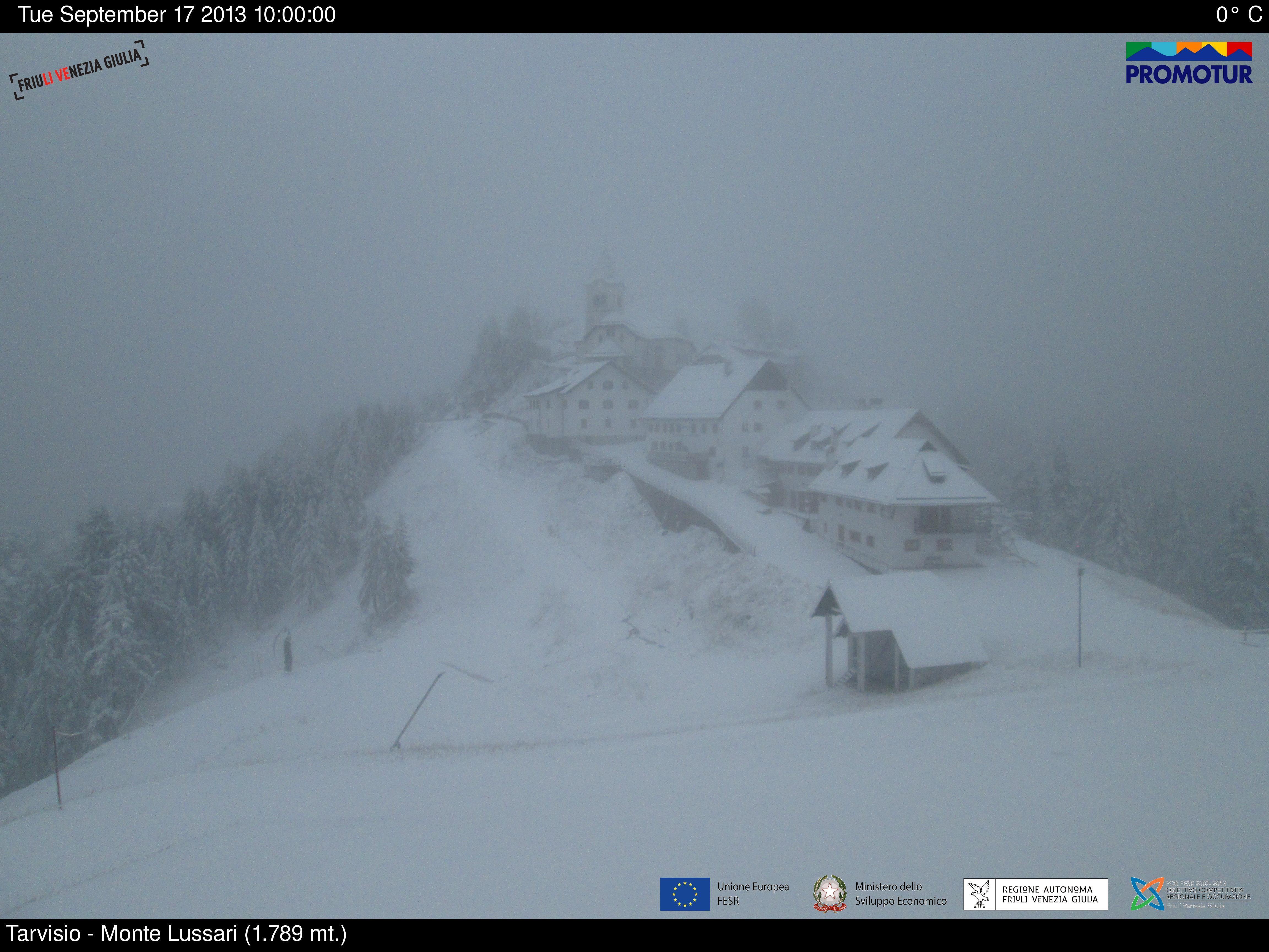 Santuario del Monte Lussari , Tarvisio a circa 1700m - Fonte promotur.digitalwebland.com