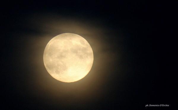 Harvest Moon 2012 vista da Domenico D'Erchia in Italia.