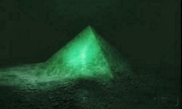 Piramide nelle Bermuda ( Foto di repertorio)
