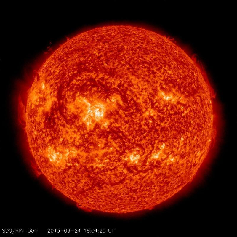 Sole : attività solare sempre più debole