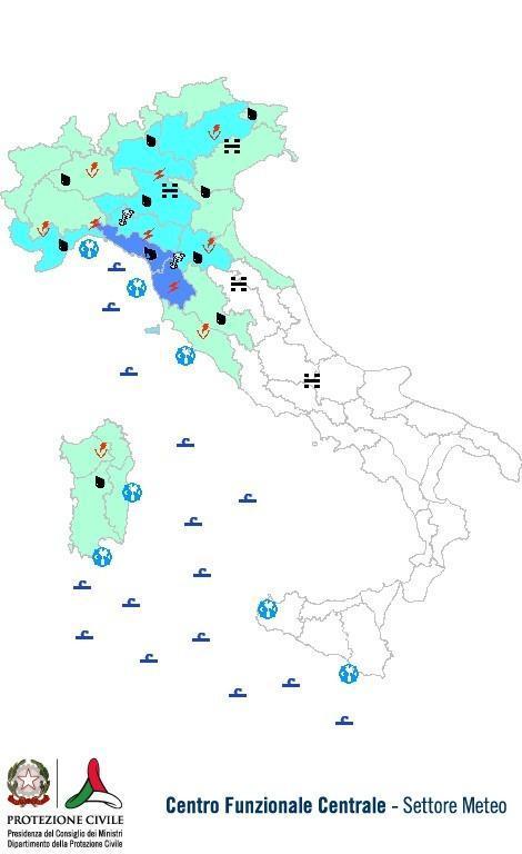 Previsioni meteo 20 Ottobre 2013 Italia , bollettino per oggi