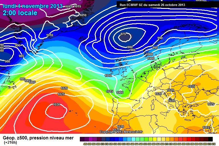 Novembre, svolta atlantica?