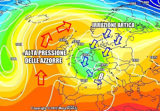 Previsioni Meteo : irruzione artica in arrivo?