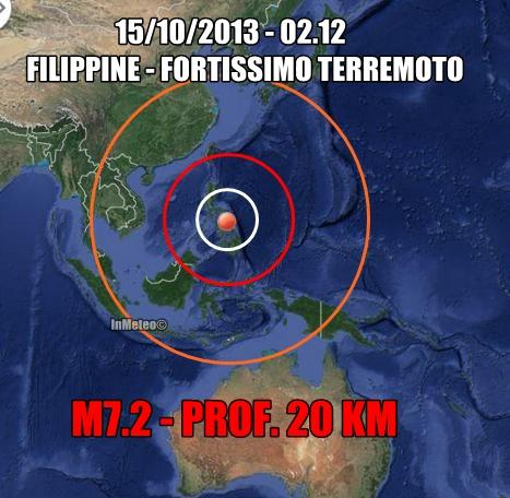 Terremoto Filippine Oggi : devastante sisma colpisce il sud-est asiatico
