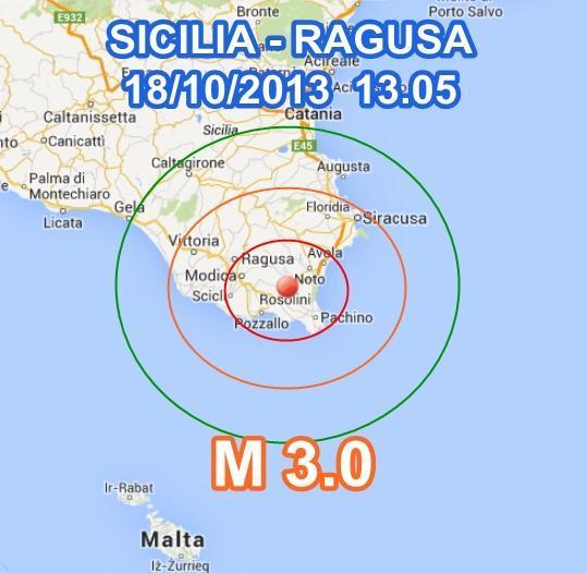 Terremoto Ragusa oggi: trema la Sicilia