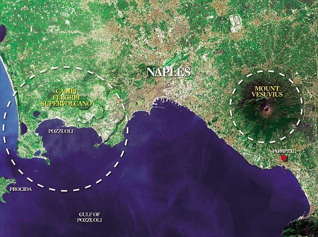 Zona rossa verrà allargata all'area dei Campi Flegrei (Napoli Ovest)