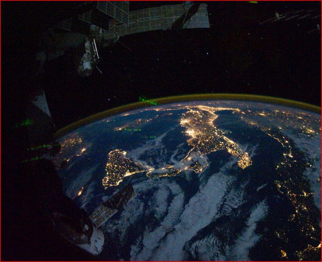 ISS Stazione Spaziale : stasera doppio passaggio