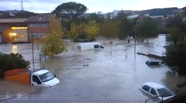 Alluvione in Toscana: situazione drammatica a Saline di Volterra
