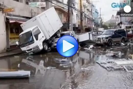 Tifone Haiyan - Danni devastanti