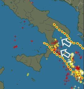 Allerta Meteo : rischio alluvioni fra Calabria e Basilicata
