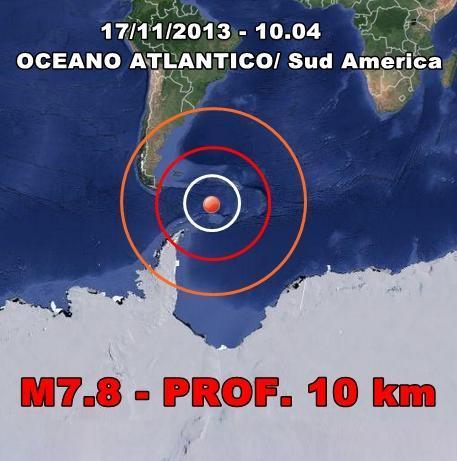 Terremoto Sud America, rischio tsunami per le coste argentine