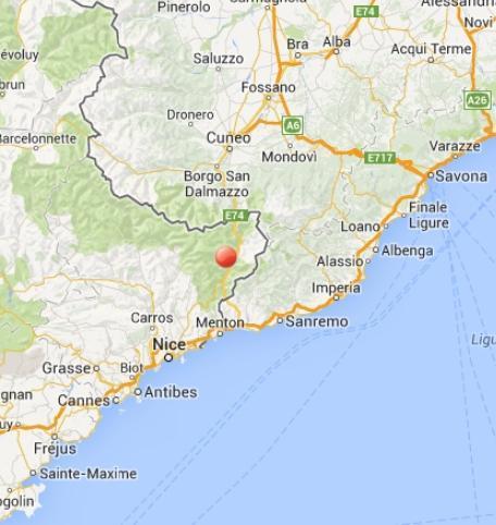 Terremoto oggi Sanremo: scossa in Liguria il 31 Ottobre 2013