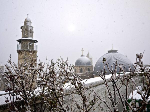 Neve a Gerusalemme