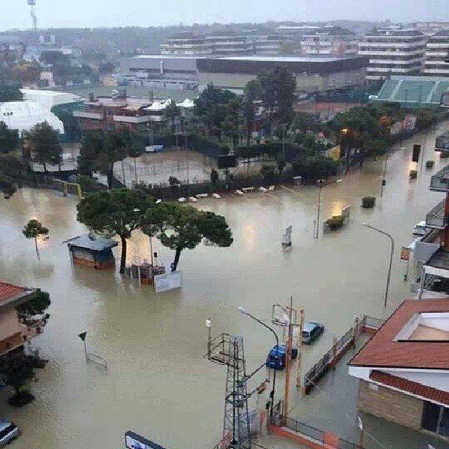 Alluvione Abruzzo 2 Dicembre 2013 - Pescara, zona stadio