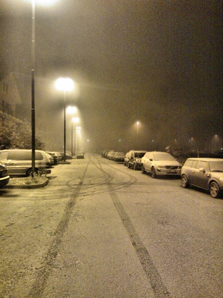 Neve chimica nel milanese - Foto di Marcolino Giordani