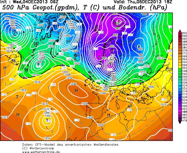 Tempesta polare in arrivo sul Mittel-Europa: massima allerta per tormente di neve