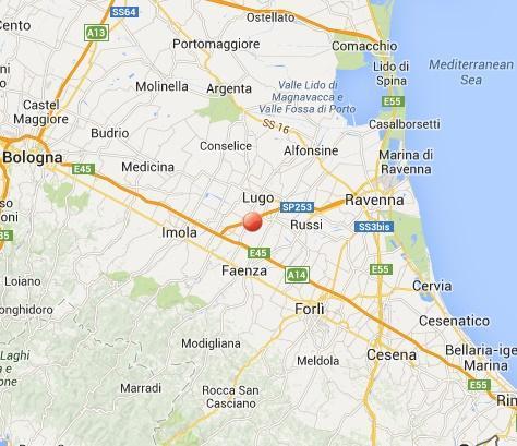 Terremoto oggi Emilia Romagna: scossa fra Faenza e Imola