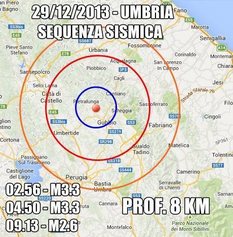 Terremoto Umbria Oggi : nuove scosse nettamente avvertite