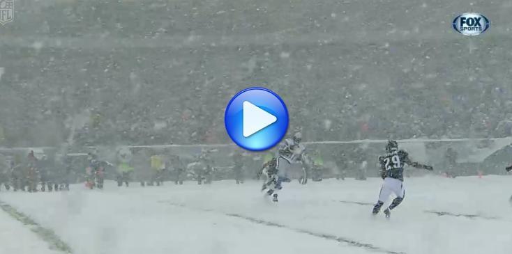 Stati Uniti : fortissima nevicata durante un match di football