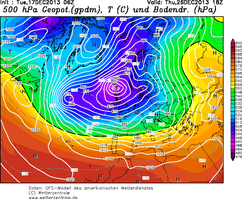 Previsioni meteo: maltempo fra Natale 2013 e Capodanno 2014?
