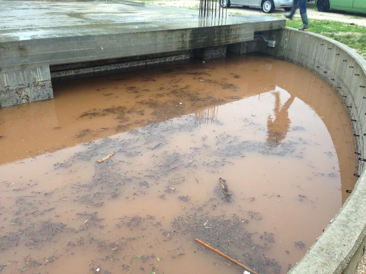 Fasano: caduti quasi 150 millimetri di pioggia, situazione critica per gli allagamenti