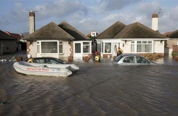 Inondazioni in Galles