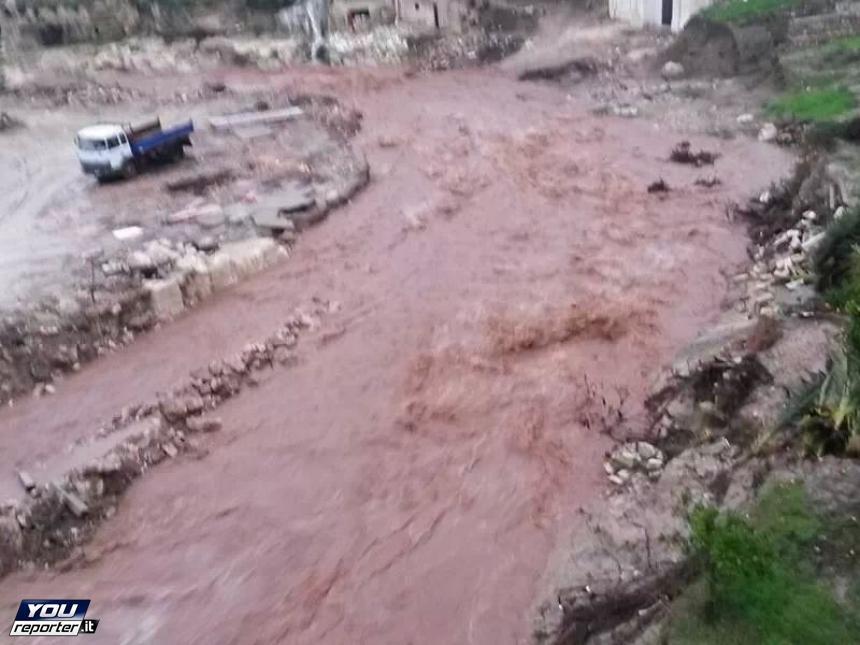 Alluvione Puglia Basilicata 1 Dicembre 2013 : esondazioni a Ginosa