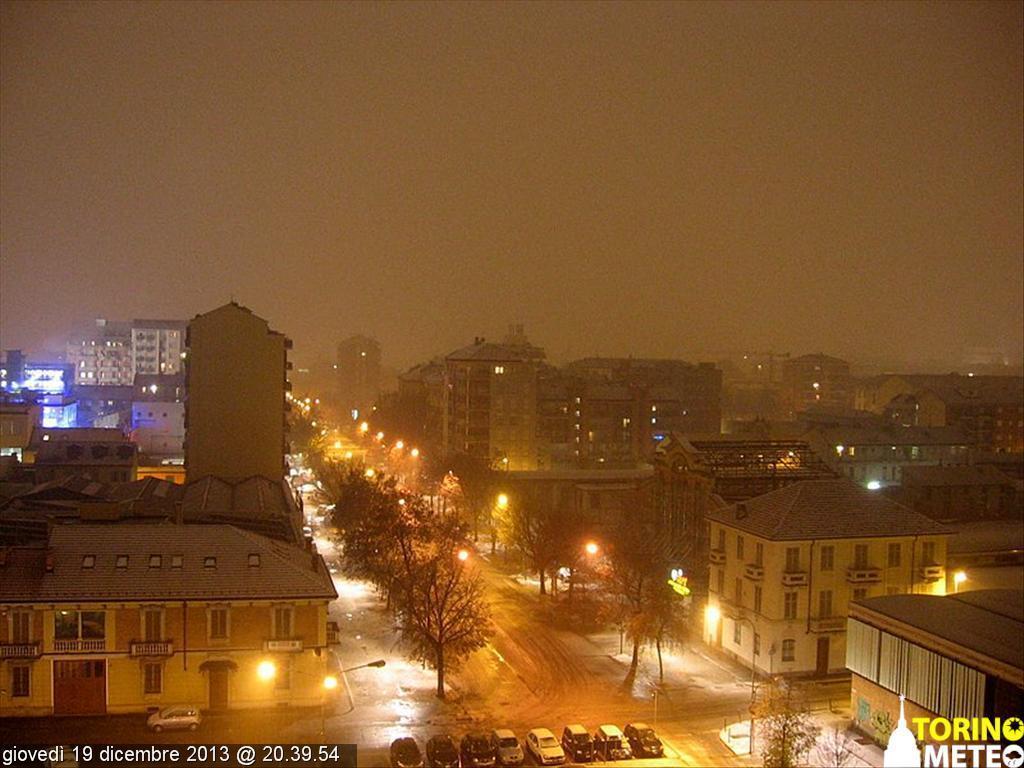 Neve arrivata anche a Torino