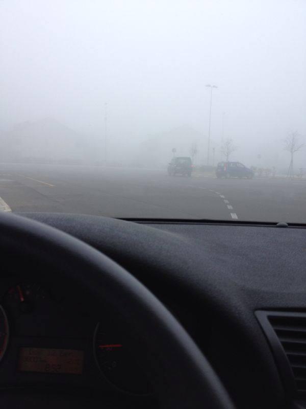 Nebbia ad Adelfia, Bari, foto di Gianluca Trotta