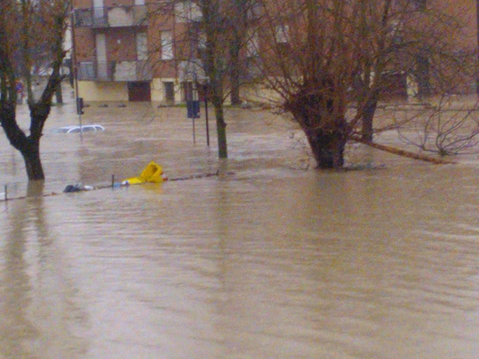 Bastiglia alluvionata - Fonte http://www.portalemeteoemiliaromagna.com/