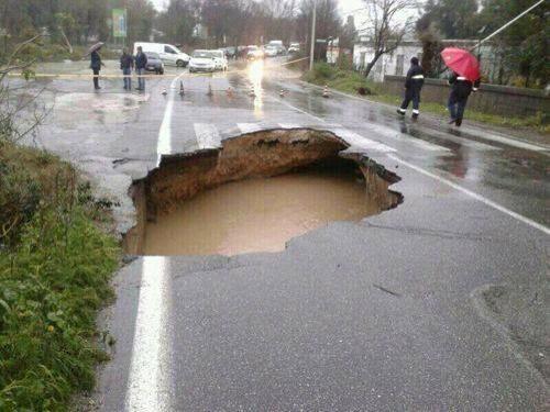Alluvione a Roma 31 Gennaio 2014