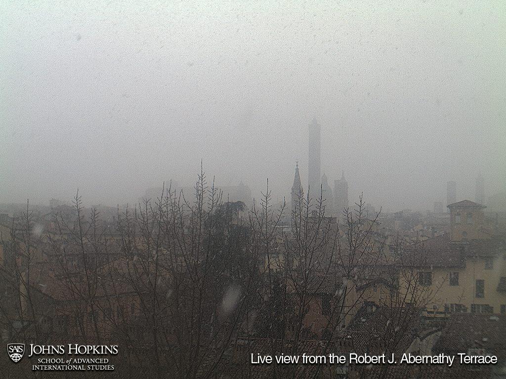 Bologna: nevicate moderate ma senza accumulo nelle ultime ore