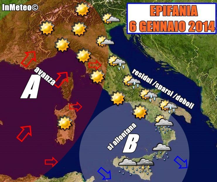 Previsioni Meteo Epifania 2014